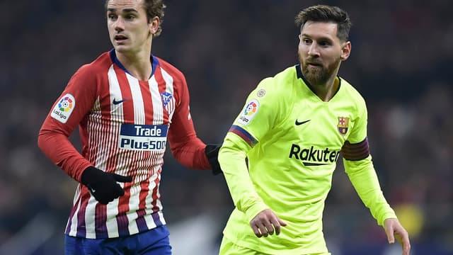 Griezmann Messi