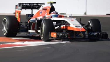 L'écurie Marussia n'avait pu participer aux derniers Grand Prix des Etats-Unis