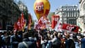La manifestation de ce jeudi a réuni plus de 15 000 personnes, selon un comptage indépendant.