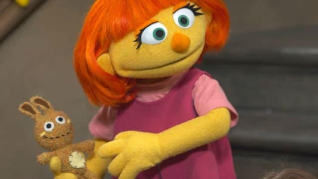 Julia, un nouveau personnage autiste du programme Sesame Street