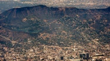 Un séisme de magnitude 5,3 a été ressenti vendredi à Los Angeles, ici le 12 juin 2013, où pour l'heure aucune victime n'a été recensée.