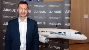 Guillaume Faury, patron d'Airbus