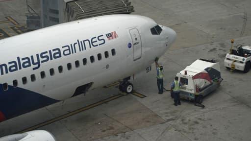 L'avion de la Malaysia Airlines demeure introuvable (photo d'illustration).