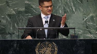 Le bilan du conflit en Syrie est d'au moins 80.000 morts, a déclaré mercredi le président de l'Assemblée générale des Nations unies Vuk Jeremic aux 193 pays membres de l'Assemblée avant un vote sur une résolution portant sur la situation en Syrie. /Photo