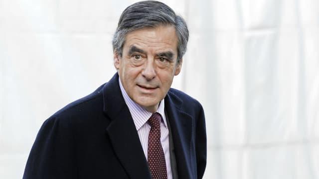 François Fillon le 15 décembre 2016 à Bruxelles