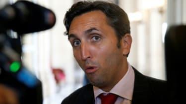 Le député du Vaucluse et candidat à la présidence des Républicains, Julien Aubert, le 29 juin 2017à Paris -