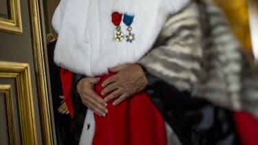 Un magistrat français arrive pour une audition formelle à la Cour de cassation, le 29 août 2014.