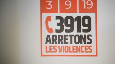 Le logo du 3919, numéro d'écoute.