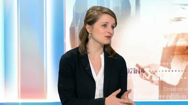 Lila Le Bas était l'invitée de BFMTV.