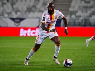 Seko Fofana avec Lens face à Bordeaux