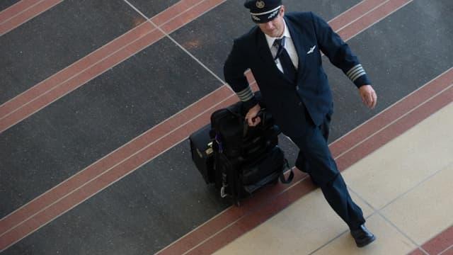 Pilote de ligne (photo d'illustration).