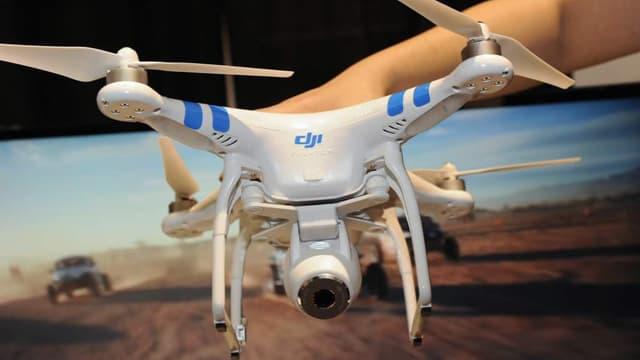 Le Phantom 2, un des drones développés par le Chinois DJI