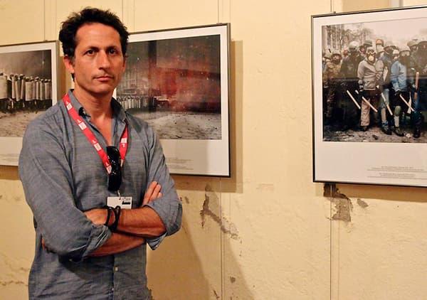 """Guillaume Herbaut a reçu le Visa d'or catégorie """"magazine"""" pour son travail sure l'Ukraine."""