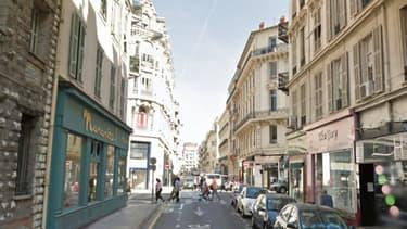 C'est dans le centre-ville de Nice qu'a eu lieu l'agression.