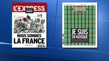 L'hebdomadaire L'Express et le quotidien Libération comptent comme actionnaires Patrick Drahi et Marc Laufer.