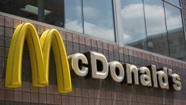 le logo du géant américain du fast-food McDonald's à Washington, le 9 juillet 2019