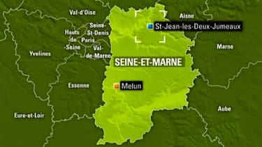 L'appareil s'est écrasé sur la commune de Saint-Jean-les-Deux-Jumeaux, en Seine-et-Marne.