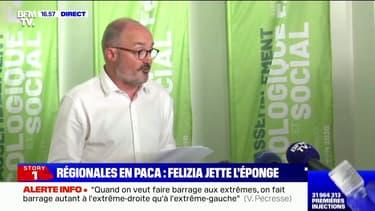 """Jean-Laurent Félizia: """"Je n'ai pas le droit de jouer avec le feu, pour l'avenir de nos enfants, de nos petits-enfants"""""""