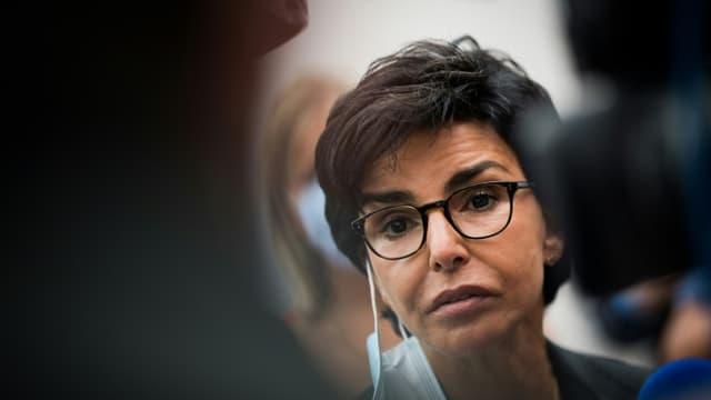 Rachida Dati, maire LR du VIIe arrondissement de Paris, le 29 août 2020 aux journées d'été de LR à La Baule