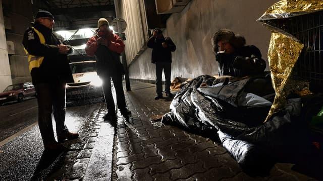 Un SDF a succombé au froid, samedi dernier, à Douai, dans le Nord. (Photo d'illustration)