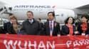 Air France a été la première compagnie aérienne à programmer une ligne directe entre Paris et Wuhan.