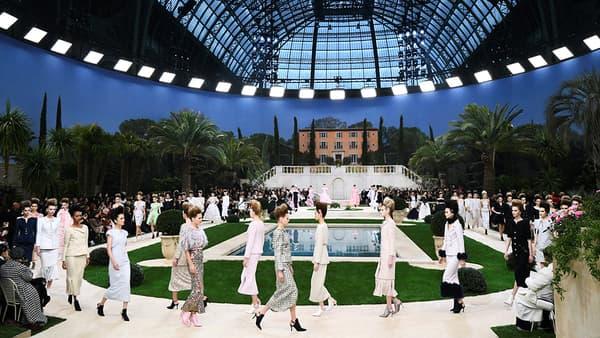 Le défilé Chanel au Grand Palais, le 22 janvier 2019.