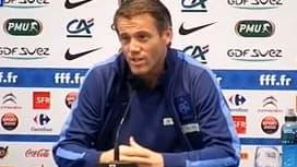 Mickaël Landreau revient en Equipe de France, dans la peau du troisième gardien de but.