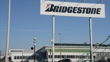 L'usine Bridgestone de Béthune (Pas-de-Calais) le 10 mars 2014