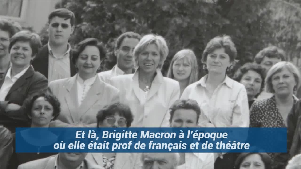 Dans L Ancien Lycee D Emmanuel Macron On A Ressorti Les Photos De Classe