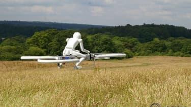 Une course de drones habités.