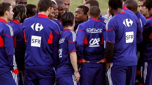 L'équipe de France boycotte l'entraînement  à Knysna