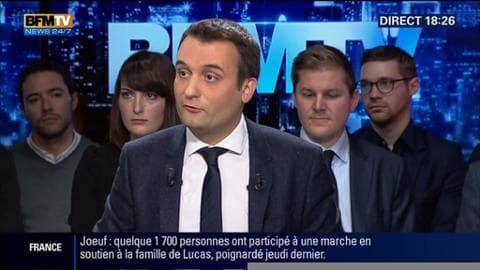 Florian Philippot face aux Français: Le vice-président du FN trouve scandaleux le financement des mosquées par l'argent public