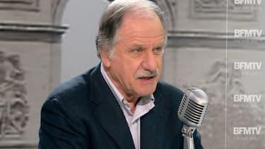 Le député écologiste Noël Mamère sur le plateau de BFMTV, le 25 novembre 2014.