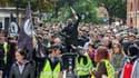 Des manifestants gilets jaunes à Toulouse, le 27 avril 2019