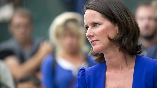 Johanna Rolland, maire de Nantes, en août 2014.