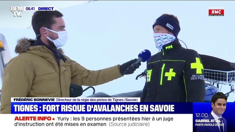 En Savoie, les pistes de Tignes sont menacées par de forts risques d'avalanches