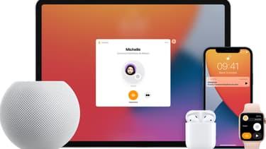 La fonction Intercom qui, à terme, équipera tous les appareils Apple
