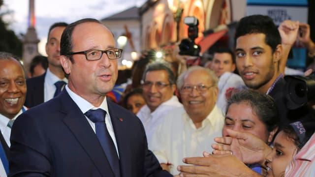 François Hollande à La Réunion
