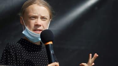 La militante suédoise de la cause climatique, Greta Thunberg, le 20 août 2020 à Berlin