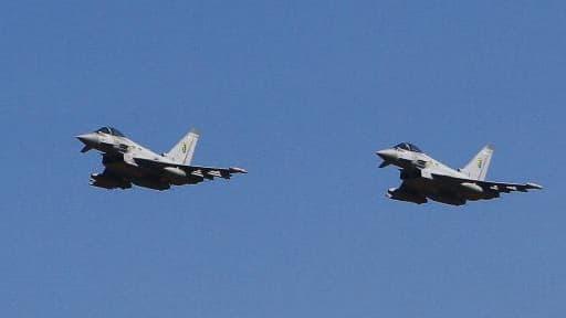 L'Eurofighter (ici en photos) a réussi à s'exporter contrairement au Rafale.