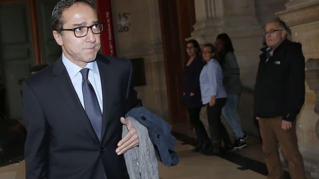 Faouzi Lamdaoui, ancien conseiller de François Hollande, lors de son procès le 5 octobre à Paris.