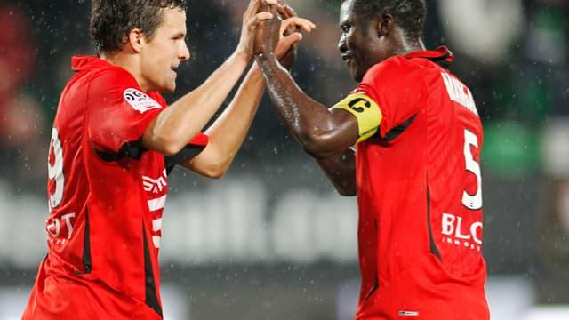 Rennes avec Danzé et Mangane est en 16e de finale