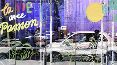 Image d'illustration - Un showroom Renault.