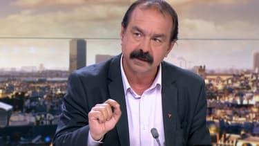 Philippe Martinez sur France 2, le 15 juin 2016.