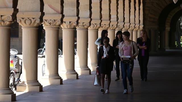 Sur le campus de l'université Stanford, en 2014 (photo d'illustration)