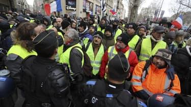 Un millier de manifestants sont mobilisés à Paris