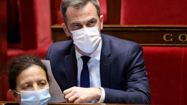 Image d'illustration - Olivier Véran à l'Assemblée nationale à Paris le 15 juin 2021
