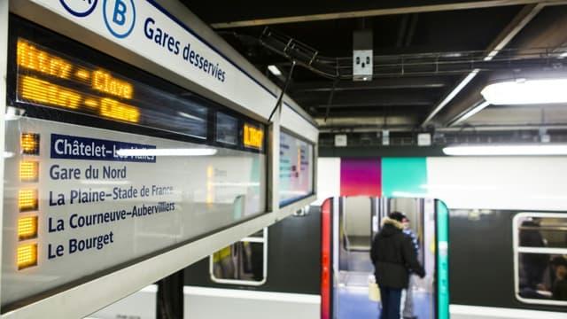 Le trafic sur la ligne B du RER est pertubé après le déraillement le 24 juin 2020 d'un train ne transportant pas de voyageurs.