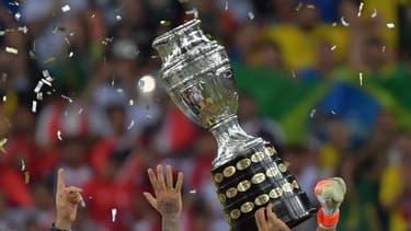 Le trophée soulevé par les Brésiliens en 2019