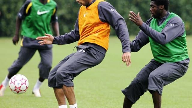 Thierry Henry et Kolo Touré